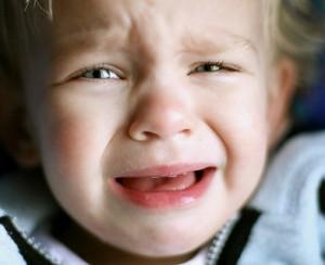 This baby's not very happy